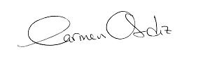 Firma Carmen Ordiz