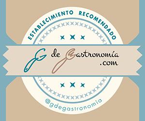 Insignia G de Gastronomía