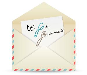 Contacta con G de Gastronomía